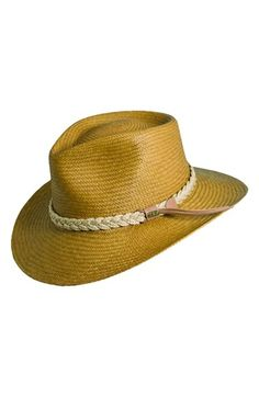 bdbfab47fb9 Men s Scala Panama Straw Outback Hat - Brown Your Head