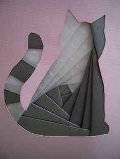 Iris Folding - I found this great site with a basic tutorial and free templates here .
