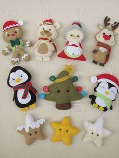 1 million+ Stunning Free Images to Use Anywhere Christmas Crafts To Sell, Felt Christmas Decorations, Felt Christmas Ornaments, Christmas Sewing, Diy Crafts To Sell, Holiday Crafts, Christmas Diy, Polymer Clay Disney, Felt Doll Patterns