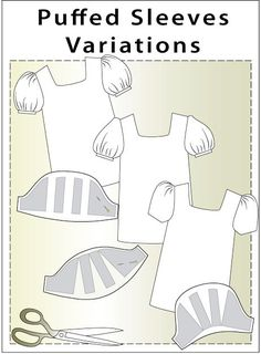 PDF dress pattern Two-piece dress with frilly top and full skirt. Dress with a full skirt and a sash. This dress features a full skirt wide sash to tie in a bow, zipper closing at the back. Drafting puffed sleeves There are three main types of puffed sleeves that are very simple to draft from … … Continue reading →