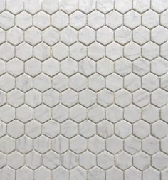 Carrara Effect Honeycomb Mosaic