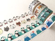 Die Cut Japanese Washi Masking Tape / by littlehappythings1