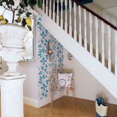 15 Hallway Under Stairs Storage Ideas | Shelterness