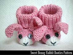 Sweet Bunny Rabbit Booties