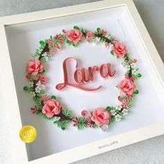 Quilled Paper Art arşivleri - Page 33 of 375 - Quilled Paper Art Quilling Letters, Origami And Quilling, Quilling Paper Craft, Quilling Flowers, Paper Flowers, Paper Quilling Tutorial, Paper Quilling Patterns, Quilled Paper Art, Quilled Creations
