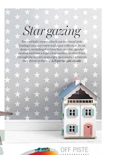 Great Little Trading, Cool Kids Rooms, New Wallpaper, Stargazing, Designer Wallpaper, Gender Neutral, Cleaning Wipes, Nursery, Cool Stuff