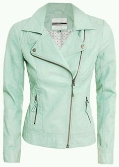 Create your own closet and sell your used clothing, shoes and items in our marketplace. Buy fashion from Influencers & shop celebrity closets in our online store. Fashion Themes, Fashion Brands, Green Leather Jackets, Black Skinny Pants, Leather Blazer, Pullover, Green Fashion, Beautiful Outfits, Fall Outfits
