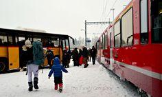 servizio autopostale Poschiavo trenino rosso