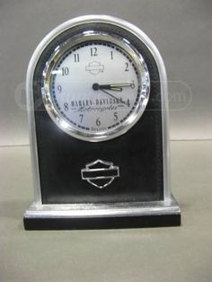 Harley Davidson Black Leather Bulova Clock Bulova, Lust, Harley Davidson, Angels, Black Leather, Clock, My Style, Awesome, Accessories