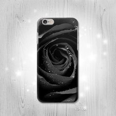 Black Rose iPhone 6S 6 Plus 6+ SE 5 5S 5C 4 Htc One M8 M7 Samsung... (79 RON) ❤ liked on Polyvore featuring accessories, tech accessories, samsung smartphones, samsung and samsung galaxy smartphone