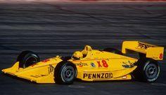 John Andretti - Lola T92/00 Chevrolet A - Hall-VDS Racing - Valvoline 200 (Phoenix International raceway) - 1992 PPG Indy Car World Series, round 2