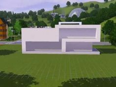 Modern House Casa Caf THE SIMS 3 YouTube Plansmaquette