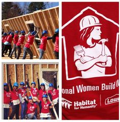 Proud to be part of the Habitat for Humanity Women Build team!