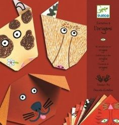 Djeco / Beginning Origami Kit, Animals by Djeco. $8.03. This step by step approach is perfect for young and beginning paper artists. Finish of the fun folded animal faces with stickers for eyes, whiskers and morefun. For ages 4 to 9 years. Includes 24 folding papers printed with animal motifs and 3 sheets of stickers. A fun kit for introducing children to the art of origami. A beautiful and fun kit for the beginning paper artist! 24 pages printed with animal motifs and step by ...