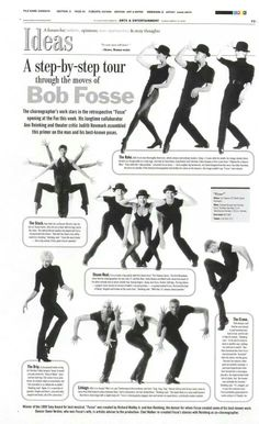Bob Fosse is one of my all time favorite choreographers.