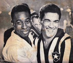 Pelé and Garrincha