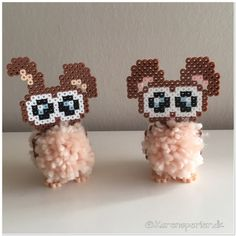 - Perleinspiration til børn og voksne Tapestry Crochet Patterns, Hama Beads Design, Pom Pom Crafts, Melting Beads, Beaded Cross Stitch, Perler Beads, Pixel Art, Knitting, Blog