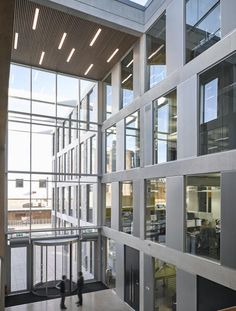 Lancaster University Engineering Building | Architect Magazine | London / John McAslan + Partners, Lancashire, England, Education, Education Projects, John McAslan, John McAslan + Partners