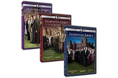 Masterpiece: Downton Abbey Season 1, 2, & 3 DVD Set ($80, shoppbs.org) #holidaygiftsforwomen #giftsforwomen