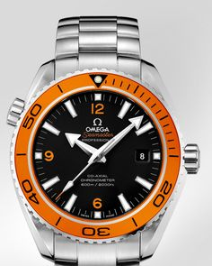 OMEGA Watches: Seamaster Planet Ocean 600 M Omega Co-Axial 45.5 mm - Steel on steel - 232.30.46.21.01.002