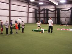 Indoor Batting Cage Layouts Mtown Sports Complex Middletown Delaware Indoor Sports