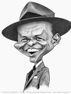 676 best celebrity caricatures ii images in 2019 celebrity Famous Celebrities frank sinatra