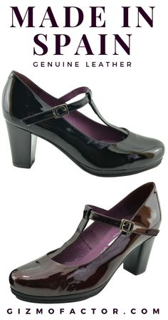 f9aa6589dddb DIGO-PATENT LEATHER T STRAP PUMP-MADE IN SPAIN