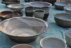 小代焼 中平窯さんの展示会も開催中