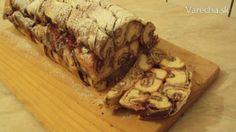 Mramorová čokoládovo-nutelová roláda *** Recept zde : http://varecha.pravda.sk/recepty/mramorova-cokoladovo-nutelova-rolada-fotore/34621-recept.html