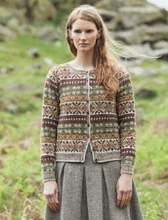 58 New Ideas For Knitting Yarn Colors Fair Isles Fair Isle Knitting Patterns, Sweater Knitting Patterns, Knitting Yarn, Knitting Sweaters, Cardigan Sweaters, Knitting Stitches, Men Sweater, Knit Patterns, Motif Fair Isle