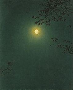 高島野十郎「満月」(1963)