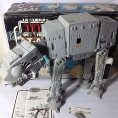 Vintage Kenner 1980's Star Wars Vehicle Hoth AT-AT Walker Boxed Complete Working | eBay