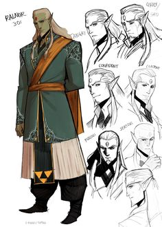 S-Kinnaly — Been developing more of Ralnor's character. He may have Zelda's personalities and wit, but he also has Ganondorf's blood thirst when torturing his enemies to giving up information or giving a slow death to those who wish death upon his family. Fantasy Races, Fantasy Rpg, Medieval Fantasy, Dark Fantasy, Black Characters, Dnd Characters, Fantasy Characters, Fantasy Inspiration, Character Design Inspiration