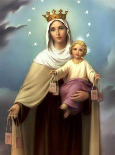 Oración milagrosa a Nuestra Señora Virgen del Carmen para alejar el Mal de Ojo