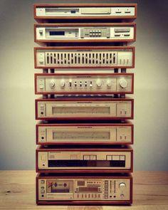 Vintage Audio Love — Marantz 😍 …,Vintage Audio Love — Marantz 😍 … Noise remoteness as wel… Radios, Speaker Amplifier, Wireless Speakers, Hi Fi System, Audio System, Audio Vintage, Case Mods, Retro, Audio Design