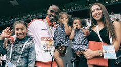 Mo Farah was 'humiliated' by airline attendant, claims wife Tania - BBC Sport