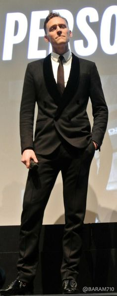 Tom Hiddleston....love a sharp dressed man!!!>>>>correction. Love me a hiddles, no matter if he's dressed or not