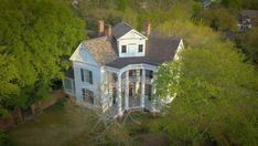 1854 Antebellum For Sale In Columbus Mississippi Columbus Mississippi, Southern Landscaping, Wood Staircase, Spiral Staircase, Antebellum Homes, Large Backyard, Mansions For Sale, Fenced In Yard, Real Estate Companies