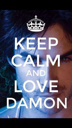 Vampire Love, Emotional Songs, Keep Calm And Love, Damon Salvatore, Ian Somerhalder, Delena, Vampire Diaries, The Originals, Vampires