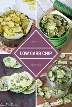 22 of the BEST Low Carb Chips- sugarfreemom.com