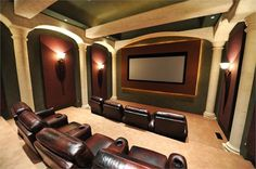Color Coordinated Man Cave...