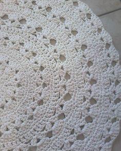#tapeteredondocroche#crocheter