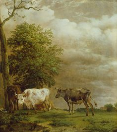 Cattle in Stormy Weather, Paulus Potter