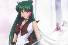 Sailor Pluto makes her appearance in Sailor Moon Crystal! Sailor Pluto, Sailor Moon 2014, Watch Sailor Moon, Sailor Jupiter, Sailor Venus, Sailor Mars, Sailor Moon Crystal Episodes, Moon News, Sailor Moon Character