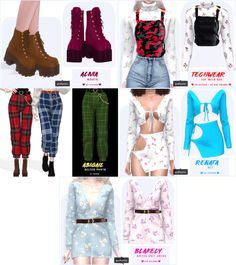 { grafity } — Abigail Belted Pants Original - Sims 4 Updates -♦- Sims 4 Finds & Sims 4 Must Haves -♦-