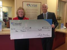 On December 15th, we provided the West Chester-based, Community Volunteers in Medicine (CVIM), with a contribution of $10,000 to support of the organization's patient care and outreach services.  CVIM is a community-based, volunteer nonprofit organization that provides primary medical and dental care to low income, working people in Chester County without insurance who are not eligible for Medical Assistance, Medicare, VA benefits or the Children's Health Insurance Program.