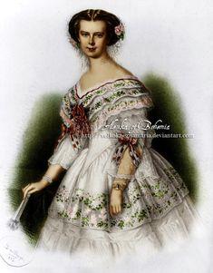 Duchesse Elisabeth en Bavière (1837-1898)