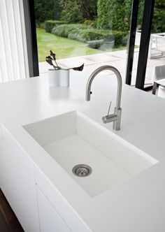 Corian modern kitchen Design