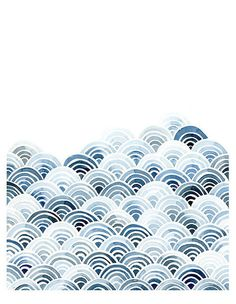 I thought this piece represented the principal unity because of the pattern in the different shades of blue. It didn't fill the whole design but to me both the blue and white tie everything together because the image reminded me of either waves or clouds.