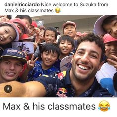 Play school // Ricciardo and Verstappen ratchet up the rivalry in Suzuka Ricciardo F1, Daniel Ricciardo, Car Jokes, Car Humor, F1 Wallpaper Hd, Beard Boy, Champions Of The World, Thing 1, F1 Drivers